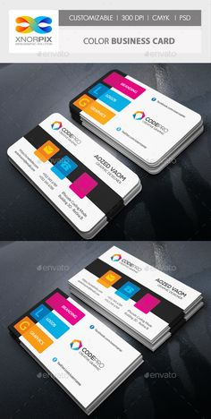 Color Business Card - Corporate Business Cards Download here : https://graphicriver.net/item/color-business-card/19377896?s_rank=29&ref=Al-fatih