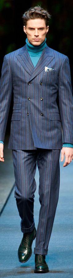 Canali Menswear Fall-Winter | Men's Fashion & Style | Luxury Casual | Moda Masculina | Shop at designerclothingfans.com