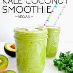 Creamy Kale Coconut Smoothie