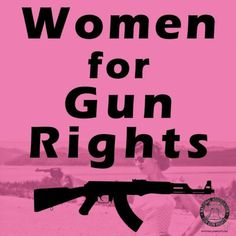 I am really impressed and so excited to see so many women taking a strong public stance for gun rights.  Strange you don't see the media talking about this extremely important aspect of gun rights...