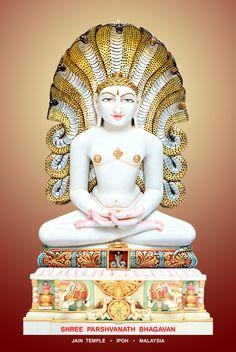 Shree Parshvanath Bhagavan Temple India, Jain Temple, Hanuman Images, Lakshmi Images, Krishna Art, Lord Krishna, Happy Good Morning Quotes, Bhagavata Purana, Hindu Statues