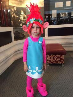 Halloween costumes for teachers poppy from trolls for the trolls diy trolls birthday party poppy from trolls solutioingenieria Choice Image