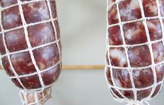 How to Make Wild Boar Salami - Making Dry Cured Salami | Hunter Angler Gardener Cook