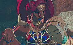 I love how kind she is to zelda :))) Urbosa is the best! Botw Zelda, I Will Rise, Evil Demons, Legend Of Zelda Breath, Demon King, Breath Of The Wild, Video Games, Ss, Nintendo