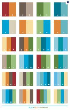 Beachy Color Combinations