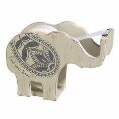 Grasslands Road Elephant Tape Dispenser Being Mindful Collection Zen