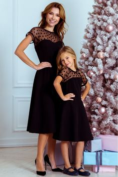 s Clothing Children' Mommy Daughter Dresses, Mommy And Me Dresses, Mother Daughter Matching Outfits, Mother Daughter Fashion, Mom Dress, Mom Daughter, Little Girl Dresses, Girls Dresses, Mother Daughter Pictures