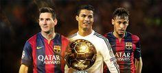 Messi, Neymar dan Ronaldo Sanggup Menangkan Segalanya - Agen bola terpercaya menilai tiga bintang sepakbola dunia yaitu Lionel Messi, Cristiano Ronaldo dan Neymar da Silva sanggup memenangkan semua kompetisi jika ketiganya berkumpul memperkuat satu tim yang sama. Sebagaimana pemberitaan agen SBOBet online pekan lalu, ketiga nama tertinggi calon... - http://blog.masteragenbola.com/messi-neymar-dan-ronaldo-sanggup-menangkan-segalanya/?utm_source=PN&utm_medium=Pinterest+-+Master