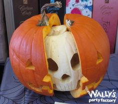 2014 Pumpkin Carving Contest! #pumpkin #carve #skeleton