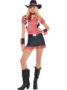 Cowgirl costume ideas for women cowgirl costume world adult rawhide cowgirl costume party city solutioingenieria Gallery