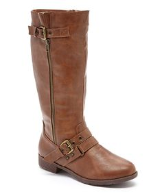 Look at this #zulilyfind! Elite Footwear Camel Amor 3 Boot by Elite Footwear #zulilyfinds