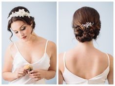 braided bridal updo ~ we ❤ this! moncheribridals.com