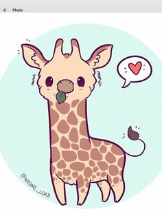 so I was up till getting orders packaged but I've shippe… Kawaii Giraffe! so I was up till getting orders packaged but I've shipped almost all of the notebooks and other orders! Cute Kawaii Animals, Cute Animal Drawings Kawaii, Kawaii Art, Cute Drawings, Kawaii Chibi, Cute Animals To Draw, Funny Animals, Tier Doodles, Cute Doodles