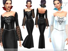 Sims 4 CC's - The Best: Queen Dress by Ekinege
