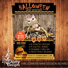 BUY 1 GET 1 FREE Halloween Mini Session Outdoor by DonyDesigns, $5.00