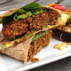 Umami Almond, Quinoa, and Sundried Tomato Burgers (vegan, gluten-free, oil-free)