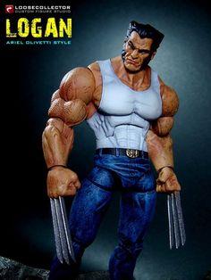 Logan : Olivetti-Style (Marvel Legends) Custom Action Figure