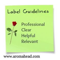 Labeling Your Aromatherapy Product-The Aromahead Blog-www.aromahead.com