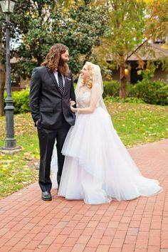 Bradley and Stephanie   JLM Couture