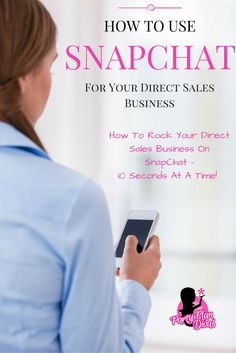 How To Use SnapChat For Your Direct Sales Business http://partyplandivas.com/use-snapchat-direct-sales-business/?utm_campaign=coschedule&utm_source=pinterest&utm_medium=PartyPlanDivas&utm_content=How%20To%20Use%20SnapChat%20For%20Your%20Direct%20Sales%20Business