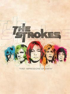 Another amazing album by The Strokes. The Strokes, Musica Disco, Julian Casablancas, Band Wallpapers, Band Logos, Band Posters, Music Film, Concert Posters, My Chemical Romance