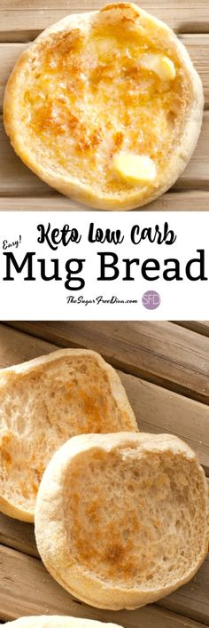 low carb keto bread #keto #lowcarb #sugarfree #easy #mug #bread #recipe