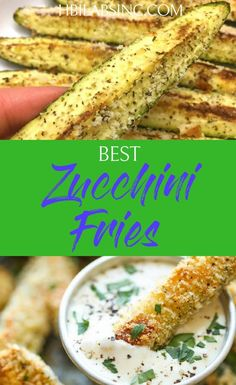 Zucchini Fries Recipes that are Full of Flavor The best zucchini fries recipes introduce health benefits, add flavor to your diet, and satisfy your taste buds without all of the fat and grease of traditional fries. Healthy Meals To Cook, Healthy Dinner Recipes, Gourmet Recipes, Low Carb Recipes, Healthy Snacks, Vegetarian Recipes, Healthy Eating, Lunch Recipes, Vegetarian Diets
