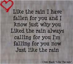 like the rain lyrics clint black - Google Search