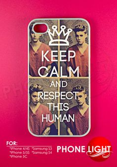 Keep Calm Justin Bieber Human Phone Case  Rubber and by PHONELIGHT, $13.99
