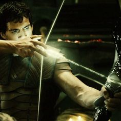 Arrow of Light.  Only the most learned and most talented of Elves can possibly learn to use light as a weapon.