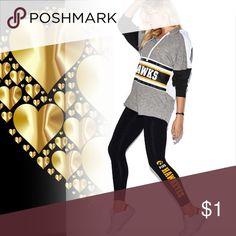 PINK VS University of Iowa Ultimate Yoga Legging s PINK Victoria's Secret Pants Leggings