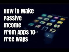 How to make passive income from apps using 10 free ways. Visit http://ift.tt/2iKluT5 for video notes related content and helpful resources mentioned.  Let's Connect! Twitter - https://twitter.com/MrJustinBryant  Facebook -  http://ift.tt/1LQomnx  Google - http://ift.tt/1PaQTrN  In this video you will learn how to make passive income from apps using 10 different free methods. These days there are a lot of apps that can help you make money but they can require a lot of time to make anything…