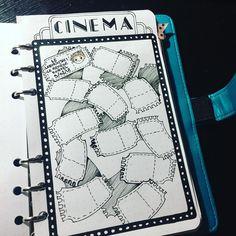 Je pensais vous l'avoir montré mais en faite non. Alors voici mon tracker pour le cinéma #chibilili #cinema #bulletjournal #bulletjournals…