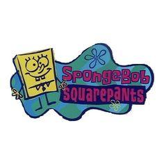 SpongeBob SquarePants logo ❤ liked on Polyvore