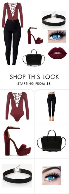 """Untitled #148"" by glo-girl11014 on Polyvore featuring WearAll, Steve Madden, Lacoste, Express and MINX"