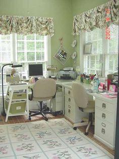 Craft Room Organization Inspiration