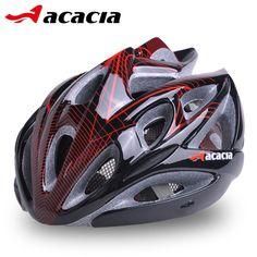 Red Bicycle Helmet Eps Cycling Men Ultralight Helmet Light