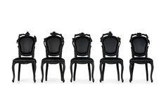 Smoke Dining Chair by Maarten Baas