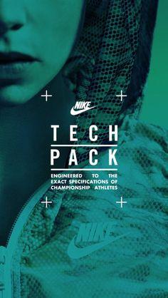 launch screen on Nike Tech Pack
