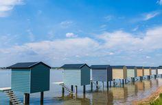Beach Huts - Osea