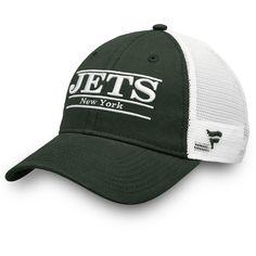 Men s New York Jets NFL Pro Line by Fanatics Branded Green White Primary Bar 2da55cb27