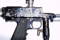 Autococker paintball gun