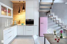 łączenie stylów - zdjęcie od h-design.pl - Kuchnia - Styl Minimalistyczny - h-design.pl