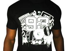 Tshirt 93zoo , Seine st denis, By stoom93 , Jaiz wear