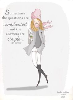 Positive Quotes For Women : Simple answers
