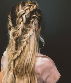 Image result for fishtail plaits goldwell