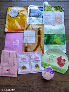 See the World in PINK: May 2015 Beauteque Mask Maven Subscription Review