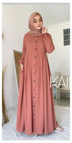 Muslimah Clothing, Modest Fashion Hijab, Modern Hijab Fashion, Muslim Women Fashion, Modesty Fashion, Islamic Fashion, Abaya Fashion, Look Fashion, Fashion Muslimah