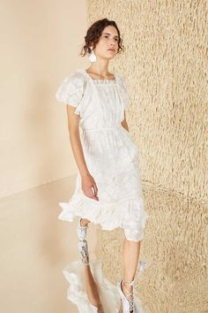 Mildred Dress - Blanc