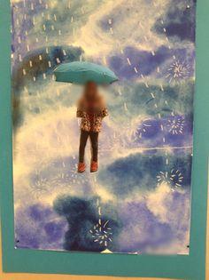 Omakuva sateessa 2.lk